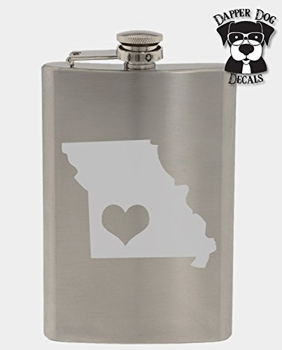 Missouri Pride I Heart My State Art Personalized