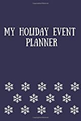 My Holiday Event Planner Paperback