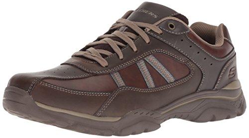 Rovato Zapatillas para Skechers Texon Marrón Hombre Chocolate vAqOWd