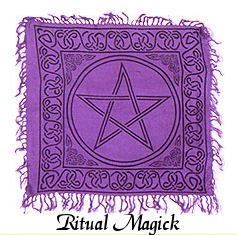 """Pentacle Altar Cloth – 18″"""" x 18″, Baby & Kids Zone"""