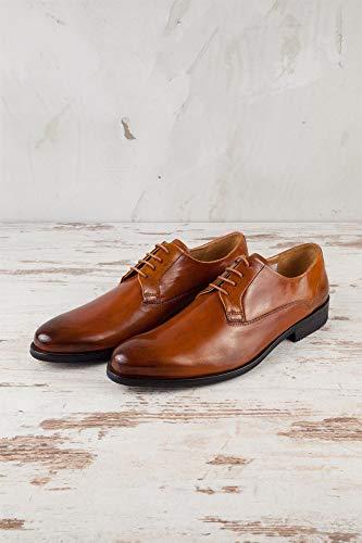 Homme Hamilton pour Ville MH15 amp; Chaussures à Lacets Melvin 41 de EU Marron 652 Marron v1wRnqxU