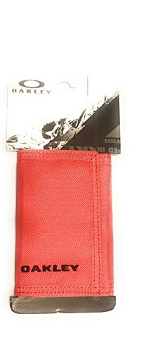 OAKLEY MENS RED LINE TRIFOLD VELCRO STATION - Mens Wallet Oakley