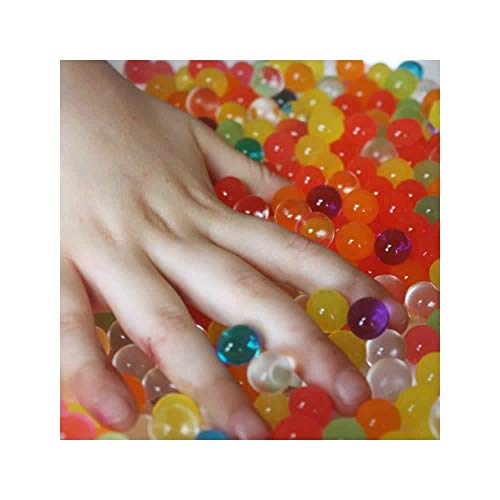 (Cosmo Beads Brand Water Beads for Kids Special Needs Sensory Toy Play-13600 Beads Makes 6 Gallons)