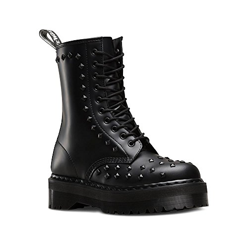 Dr 1490 Martens Smooth Black Stud wqfUHAwCP