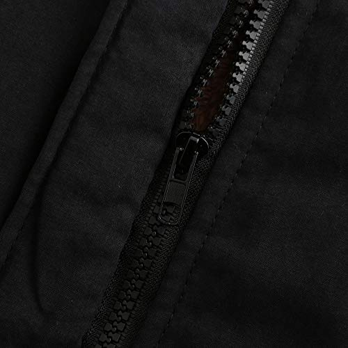 Femme Fourrure Outdoor Jeans Avec Blouson Fausse Militaire Noir Veste Chaud Capuche Vertvie Manteau Parka Hiver Longue Hoodie Matelasséerembourré HqwpdX1