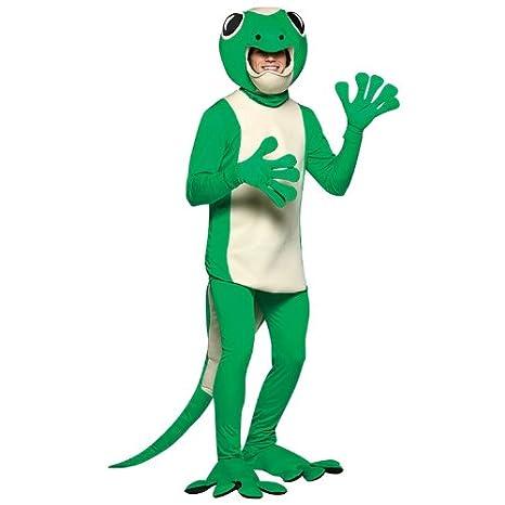 Amazon.com: Adult Gecko Costume Standard: Clothing
