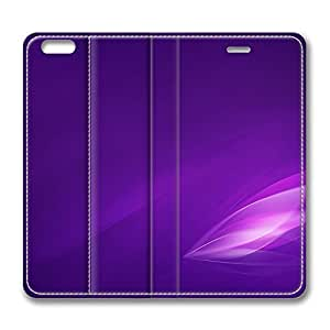 iPhone 6 Plus 5.5inch Leather Case, Aero Stream Purple Luxury Protective Slim Fit Skin Cover For Iphone 6 Plus [Stand Feature] Flip Leather Case Cover for New iPhone 6 Plus wangjiang maoyi