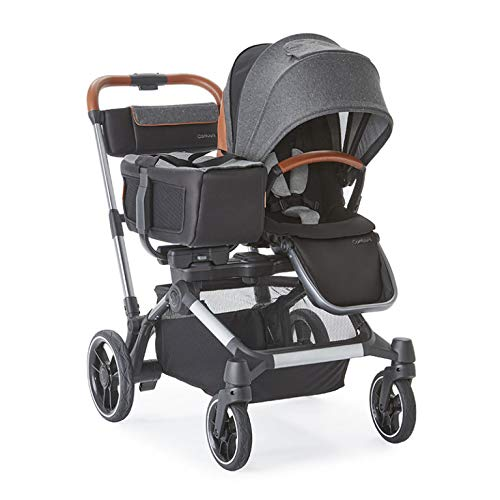 Contours Element Side-by-Side Single-to-Double Stroller with Child Tray