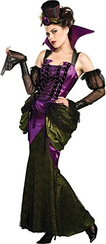 Sexy Deluxe Vampiress Costumes (Victorian Vampiress Adult Costume Size Large)