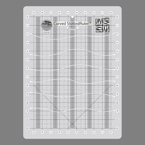 quilting slotted ruler - 6