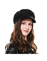 Kajeer Floppy Corduroy Newsboys Cap Winter Hats for Women