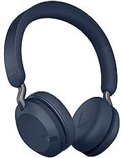Jabra Elite 45h Draadloze Koptelefoon – Compacte en Vouwbare Bluetooth Koptelefoon, Gaat 50 Uur Mee – Beltechnologie met 2 Microfoons – Marineblauw