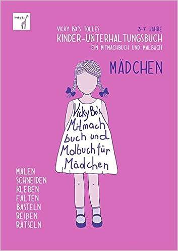 Kinder Unterhaltungsbuch Madchen Mitmachbuch Und Malbuch 3 7