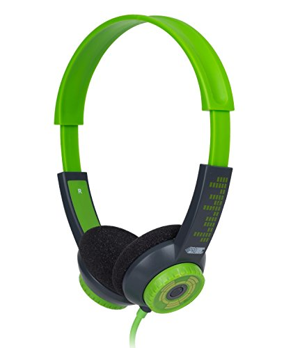 FSL Protec Kids Headphones with Adjustable Volume Limiting (Green) by FSL (Image #1)