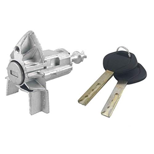 (IAMAUTO 03408 Door Lock Cylinder with 2 Keys For 2001 2002 2003 2004 2005 2006 BMW X5 (E53) Left/Driver Side)