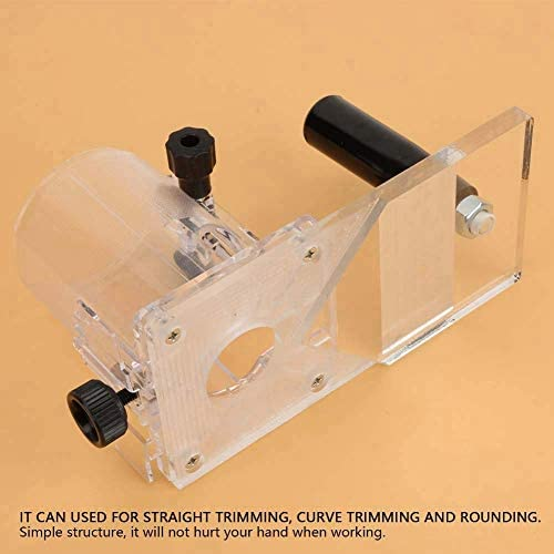 ZT-TTHG トリマーベース、プラスチックトリマーベースバランスボード木工エッジ切削工具
