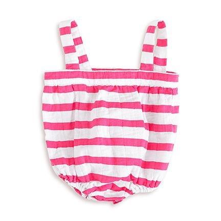 Shocking 6 2909 Aden Romper Months Pink Plus Blazer Stripe Anais 3 qnATA6t4wx