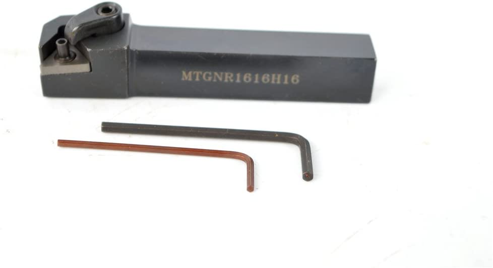 Overall length 100 mm 1PCS MTGNR 1616H16 Alloy Steel CNC Lathe Excircle Turning Tool Holder Boring Bar For TNMG1604 1616 mm MTGNR Tool Holder Holder width 16 mm