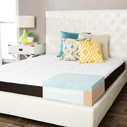 Simmons Beautyrest ComforPedic from Beautyrest Choose Your Comfort 8-inch Queen-Size Gel Memory Foam Mattress Firm Firm Firm