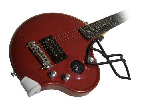 Football Helmet Electric Guitar w Built in Amp (Maroon), Redskins Indiana Hoosiers Minnesota Virginia Tech Hokies MS State Texas A&M Aggies ()
