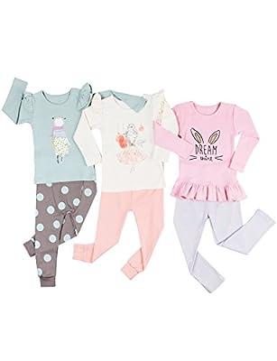 UniFriend Boy's Girl's Pajamas Set For Toddler 100% Cotton 2 Piece PJS Loungewear