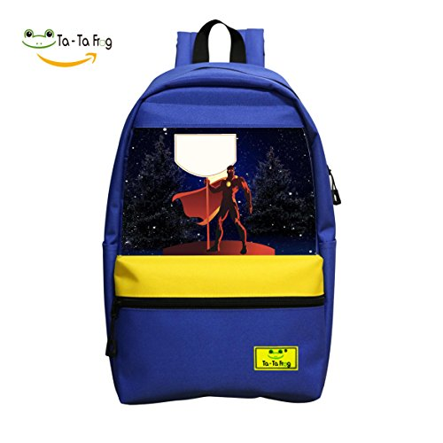 00n Laptop (3D Printed Red Hero 2018 Fashion School Bag Backpack for Boys and Girls)
