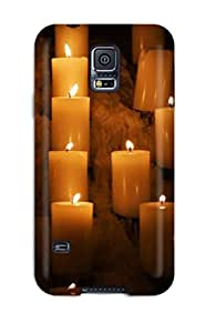 Demi Lovato Case's Shop 9574789K11820901 Hot Design Premium Tpu Case Cover Galaxy S5 Protection Case(candle Lights)