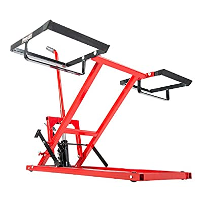 Pro-LifT Lawn Mower Jack Lift with 300 Lbs Capacity for Tractors and Zero Turn Lawn Mowers