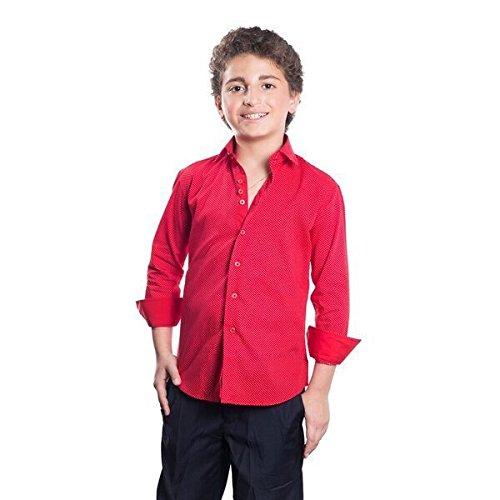 298eb0175 Elie Balleh Brand Boy's Style Slim Fit Shirt by Elie Balleh (Image #4)