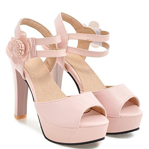 Plateforme Pink Chaussures Femmes AicciAizzi Sandales 5IwqO0t8