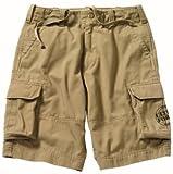 Rothco Kids Khaki Vintage Cargo Shorts, Small