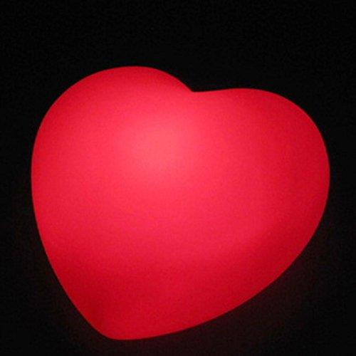Sweet Heart Shape LED Night Light Lamp...