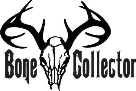 (Top Selling Decals - Prices Reduced : Bone Collector - Color=As Seen - Size=13