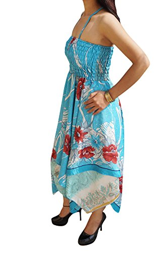 Kleid Green Blue Himmelblau Interior Mogul Damen M Olive S XqwEw6t