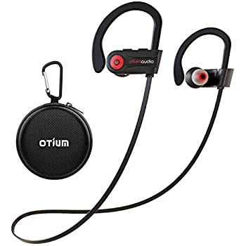 317f619d88c Otium Wireless Headphones, Bluetooth Headphones, Best Sports Earbuds, IPX7  Waterproof Stereo Earphones for Gym Running 9 Hours Playtime Noise  Cancelling ...