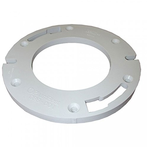 "UPC 717510880014, Jones Stephens Corporation C88001 Closet Flange 1/2"" Extenders, Small, White"