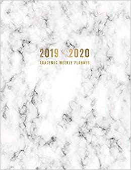 2019 - 2020 Academic Weekly Planner: Large Weekly and ...