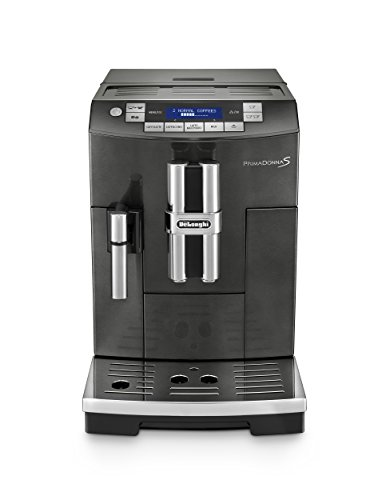 DeLonghi America ECAM28465B Prima Donna Fully Automatic Espresso Machine with Lattecrema System, Black by DeLonghi