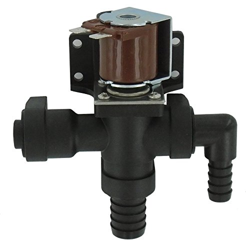 Jabsco 37038-1012, Marine Toilet Repair, Head Solenoid / Anti-Syphon Valve, 12 Volt by Jabsco