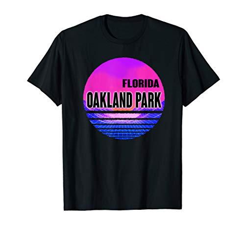 Vintage Oakland Park Shirt Vaporwave Florida -