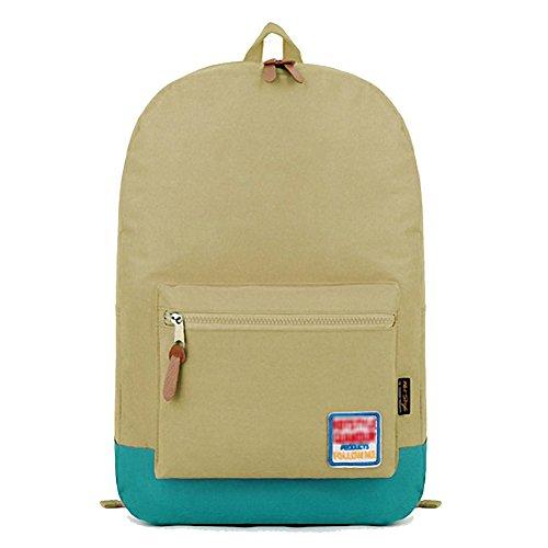 "Price comparison product image Artone Harajuku Top Handle Casual Backpack Big Capacity School Daypack Fit 15"" Laptop Brown"