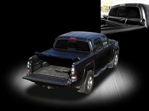 Roll-Up Soft Tonneau Cover Kit Blk 07-15 TOYOTA TUNDRA FLEETSIDE 6.5 ft 78
