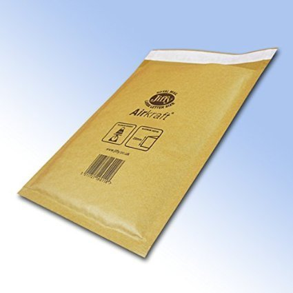 50 x Jiffy Airkraft Gold Bubble Lined Postal Padded Mailing Bags JL-GO-3 F//3