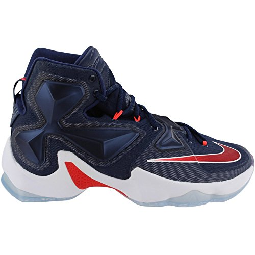 Red Unvrsty bright White Navy Lebron Rd Basketball Blue Nvy Shoes Mid white 's Men XIII NIKE xZ7qna8wBn