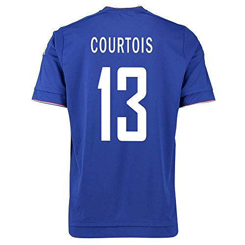 Adidas Courtois #13 Chelsea Home Soccer Jersey 2015-2016 YOUTH. (YL)