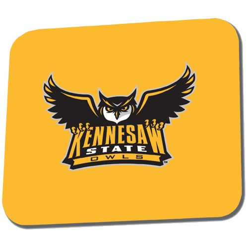 Kennesaw Full Color Mousepad 'Official Kennesaw State Owls Logo' by CollegeFanGear