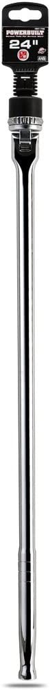 Ratchet Breaker Bar Powerbuilt 641700 24 L 1//2 Dr