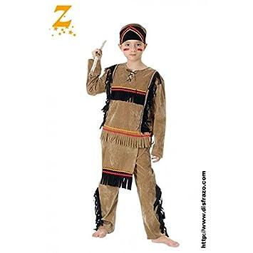 Fyasa 706082-t01 Disfraz de indio, Tamaño infantil: Amazon.es ...