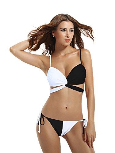 Black And White Bikini in Australia - 4
