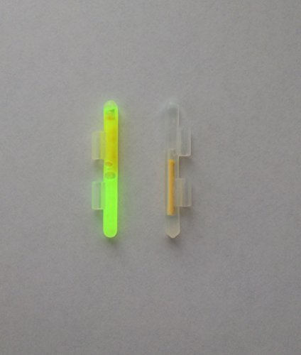 Mini Clip on Light Sticks for Rod Tips - Glow - 40 Pcs - Item #976